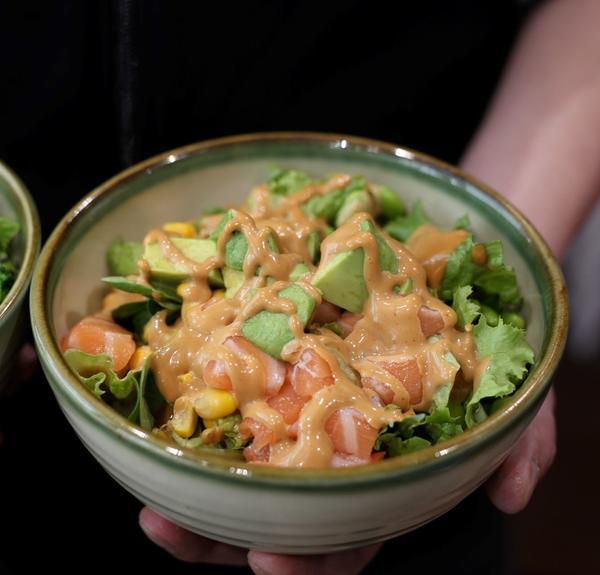 KAGI-Bowl - Version mit Spicy-Mayo-Sauce